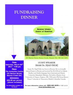 Fundraising dinner/ Donatorska večera