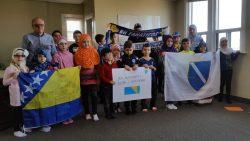 Učenici uče o Danu nezavisnosti BiH u školi bosanskog jezika Hamilton